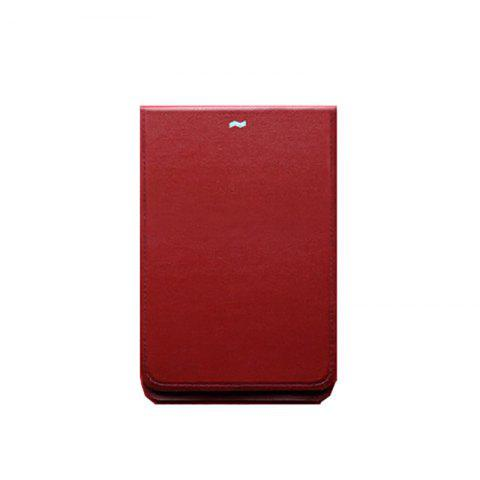 MAG Ultra-thin New Wallet Fashion Creative Convenient Travel Personal Waterproof Detachable Wallet - RED