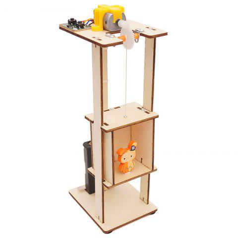 Elevator Lift Technology Small Production DIY Small Invention Small and Medium-sized Teaching Toy Laboratory Equipment - BLONDE