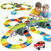 Children Dinosaur Electric Track Assembly Toy DIY Puzzle Track - 238 (192 PIECES)