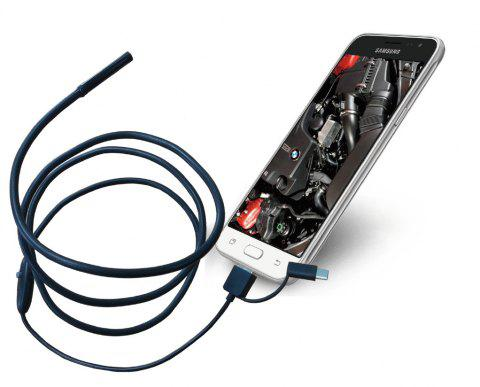 Micro Camera 3 in 1 Android Mobile Phone USB Endoscope Car Dental Industrial Pipe Endoscope - 1 METER CORD