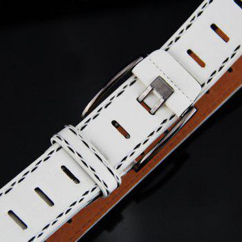 Stylish Retro Style Pin Buckle Belt For Men - WHITE