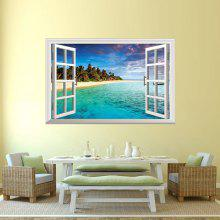 Special Removable 3D Faux Window Wall Sticker For Living Room