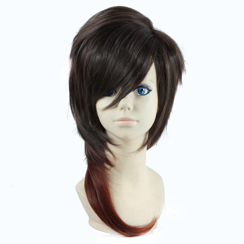 Fluffy Layered Natural Straight Vogue Long Two-Tone Ombre Dai Kurikara Cosplay Wig - OMBRE