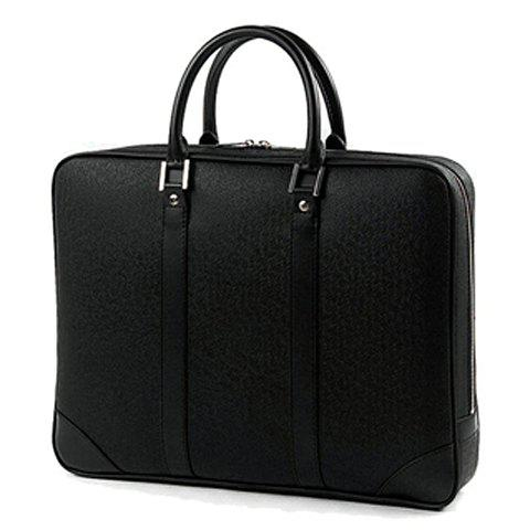 Trendy Black Color and Metal Design Briefcase For Men