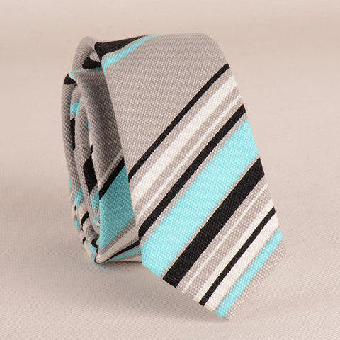 Stylish Various Twill Pattern 5CM Width Tie For Men - LAKE BLUE