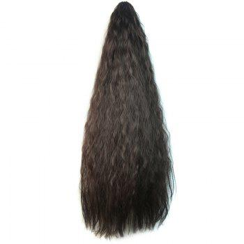 Fashion Long Heat Resistant Synthetic Corn Hot Ponytail For Women