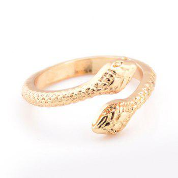 Alloy Snake Shape Ring