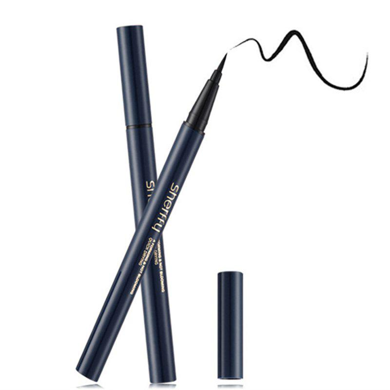 Natural Smudge-Proof Fast Dry Black Liquid Eyeliner Pen - BLACK