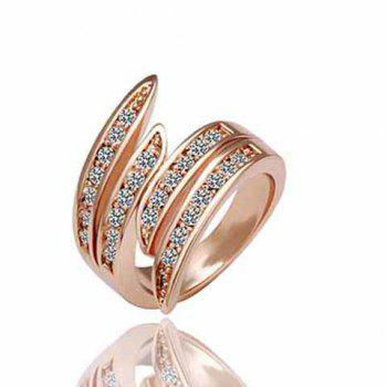 Exquisite Rhinestone Angel Wing Valentine's Day Gift Ring For Women