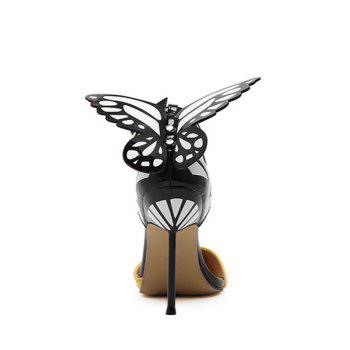 Trendy Butterfly and Ankle Strap Design Pumps For Women - 37 37
