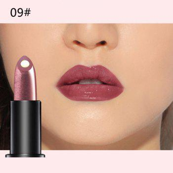 Durable 10 Colours Natural Red Wine Polyphenol Gel Filling Glossy Moisturizing Lipstick