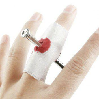 Novelty April Fool's Day Nail Through Finger Magic Tricky Toy