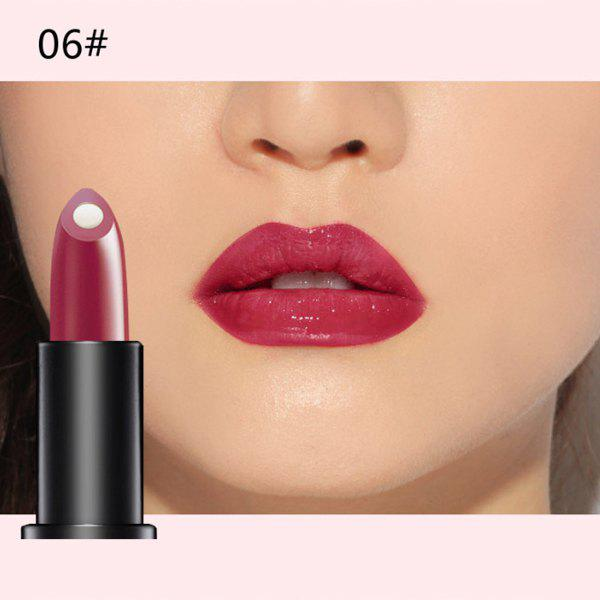 Durable 10 Colours Natural Red Wine Polyphenol Gel Filling Glossy Moisturizing Lipstick -