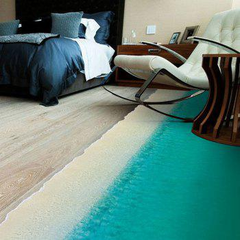 High Quality Beach Pattern Removeable Floor Stickers - COLORMIX