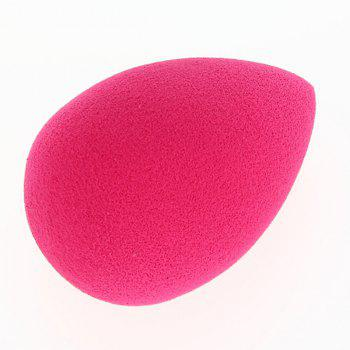 Cosmetic 3 Colours Dual-Use Egg Shape Water Swelling Polyurethane Powder Puff - PINK