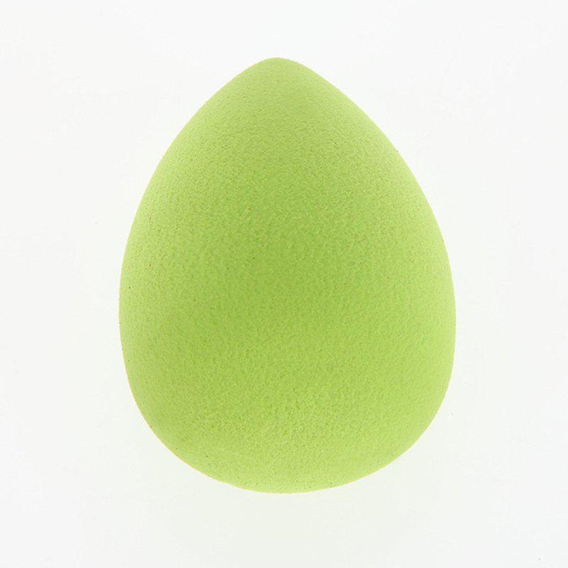 Cosmetic 3 Colours Dual-Use Egg Shape Water Swelling Polyurethane Powder Puff