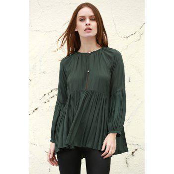 Long Sleeves Loose Fitting Boho Blouse
