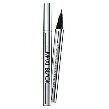 Cosmetic Black Waterproof Smudge-Proof Fast Dry Ultra Fine Liquid Eyeliner Pencil