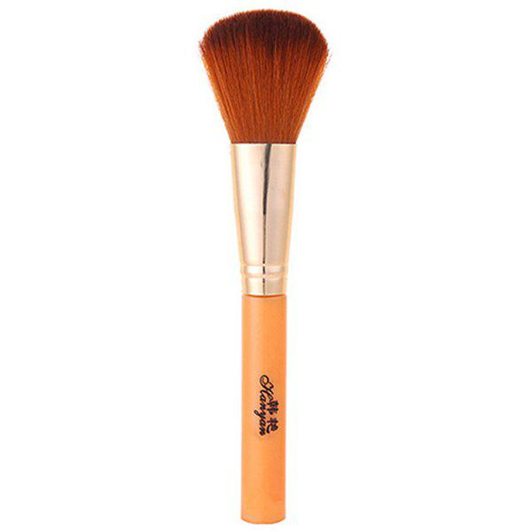 Cosmetic Squirrel Hair Round Contour Blush Brush - EARTHY