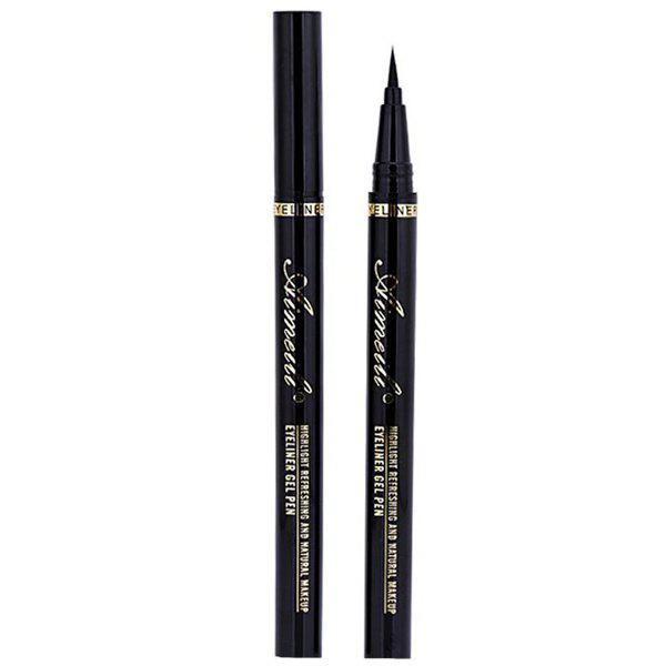 Cosmetic Black Waterproof Smudge-Proof Soft Ultra Fine Liquid Eyeliner Pencil
