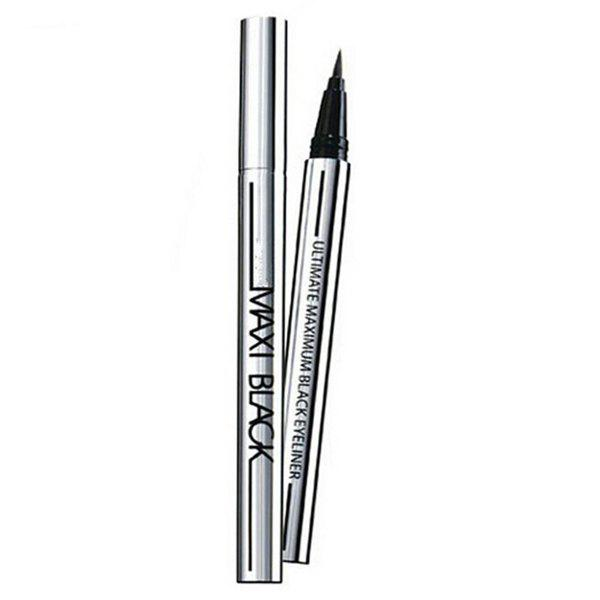 Cosmetic Black Waterproof Smudge-Proof Fast Dry Ultra Fine Liquid Eyeliner Pencil -  BLACK