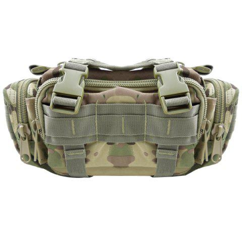 Fashionable Waterproof Camouflage Multifunction 5L Waist Pack - CP CAMOUFLAGE