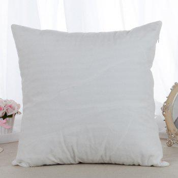 High Quality 3D Starry Pattern Square Shape Synthesis of Flax Pillow Case(Without Pillow Inner) - BLUE
