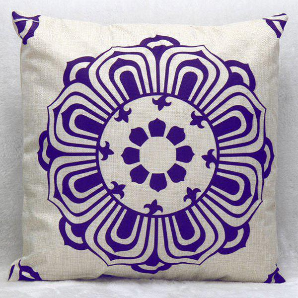High Quality Square Shape Flax Pillow Case(Without Pillow Inner)