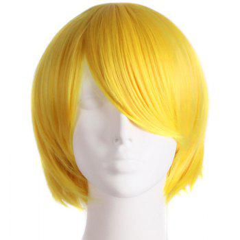Fashion Straight Synthetic Anti Alice Hair Harajuku Cosplay Wig For Men