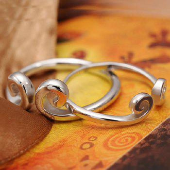Pair of Forbidden Love Ring For Lovers - SILVER ONE-SIZE