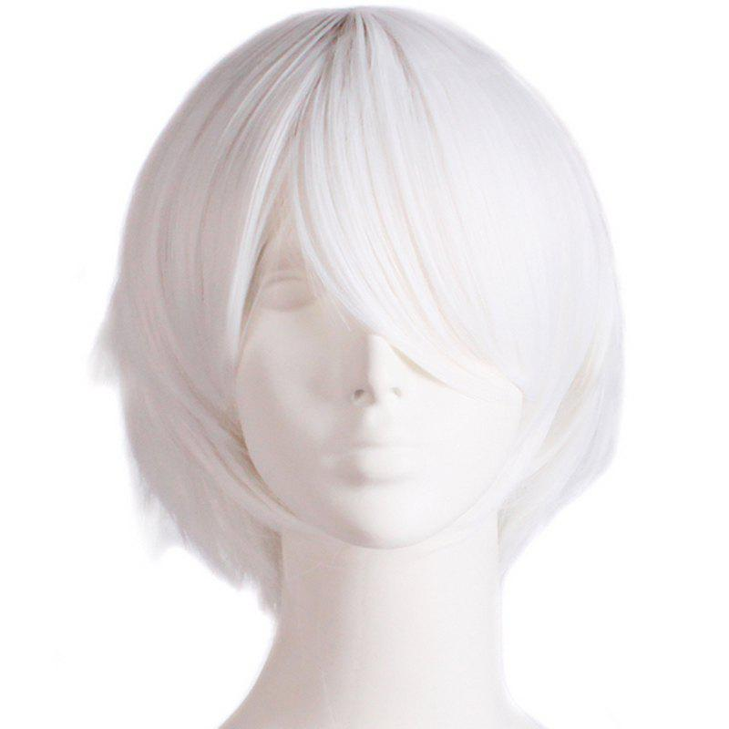 Fashion Straight Synthetic Anti Alice Hair Harajuku Cosplay Wig For Men men harajuku short cosplay wig anime male synthetic hair boys orange wigs costume party peruca pelucas