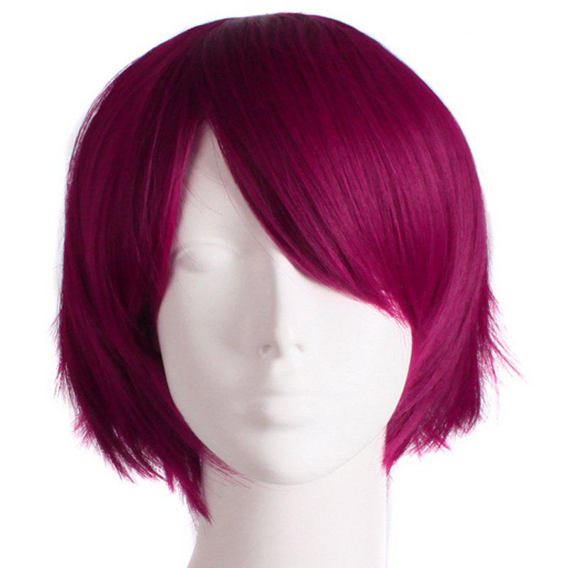 цена на Fashion Straight Synthetic Anti Alice Hair Harajuku Cosplay Wig For Men