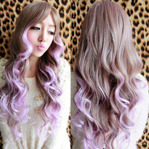 Fashion Long Wavy Synthetic Harajuku Cosplay Wig For Women