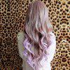 Fashion Long Wavy Synthetic Harajuku Cosplay Wig For Women -  OMBRE