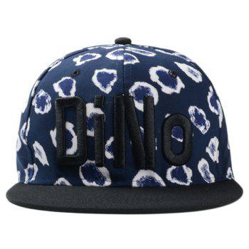 Chic Letter Shape Embroidery Cell Pattern Women's Baseball Cap - CADETBLUE