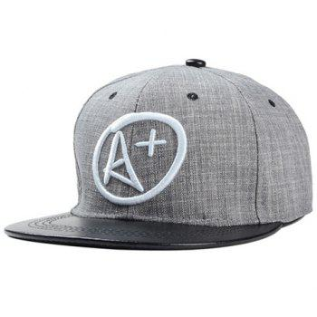 Fashionable Letters Symbol Embroidery Baseball Cap For Men