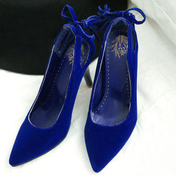 Fashionable Hollow Out and Tassel Design Women's Pumps - 38 38