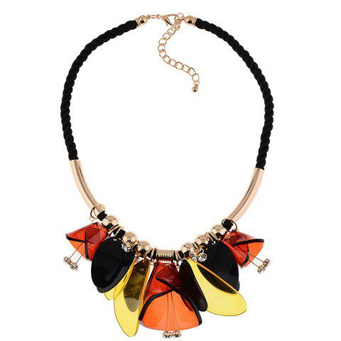 Graceful Exaggerated Floral Necklace For Women