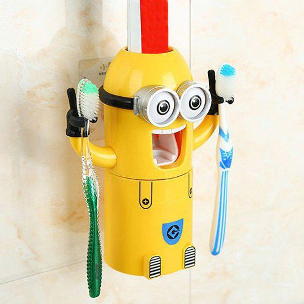 Fashionable Despicable Me Automatic Toothpaste Dispenser Minion Shape Toothbrush Toothpaste Holder 165109701