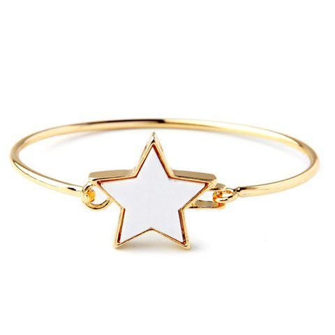Trendy Star Decorated Charm Bracelet For Women