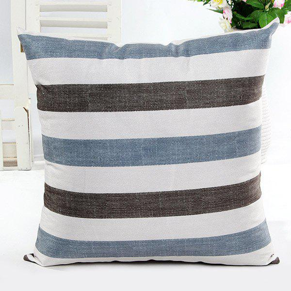 High Quality Square Shape Simple Stripe Printed Pillow Case(Without Pillow Inner) - STRIPE