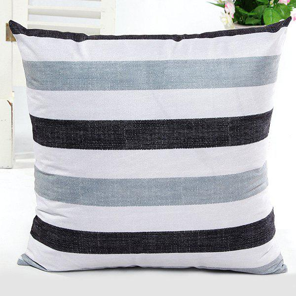 High Quality Square Shape Simple Stripe Pattern Pillow Case(Without Pillow Inner) - STRIPE