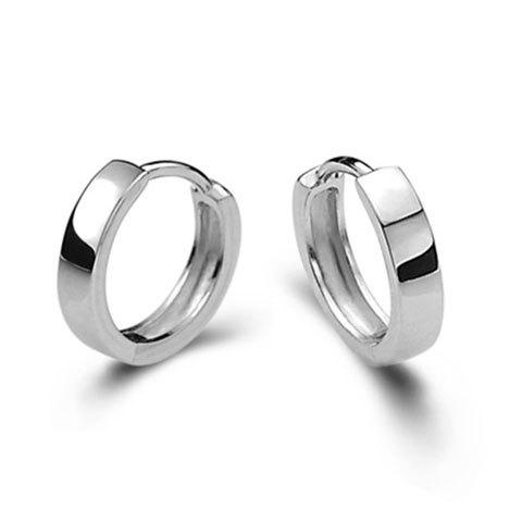 Pair of Hoop Earrings - SILVER