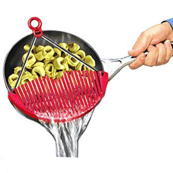 Hot Sale Kitchen Better Strainer Portable Drain Rack Pan Kitchen Gadget