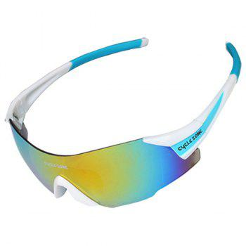 High Quality Outdoor Sports Cycling Equipment Mountain Biking Colorful Anti-UV Rimless Men's New Sunglasses