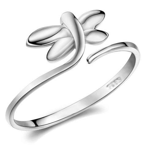 Dragonfly Cuff Ring - SILVER ONE-SIZE