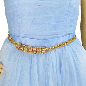 Charming Solid Color Belly Chain For Women