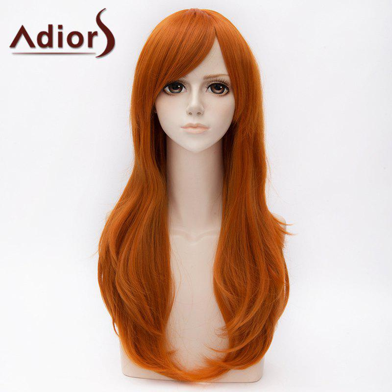 Fashion Long Side Bang Slightly Curly Cosplay Wig For Women