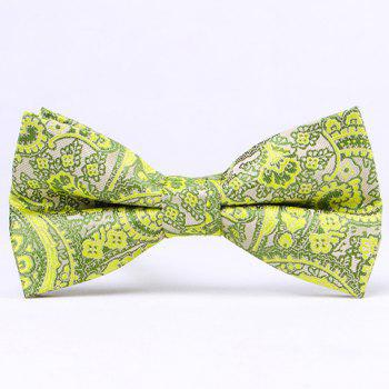 Casual Retro Style Paisley Pattern Party Bow Tie For Men