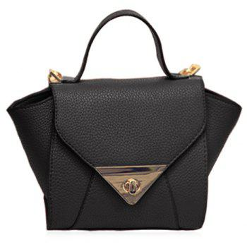 New Arrival Solid Colour and PU Leather Design Tote Bag For Women